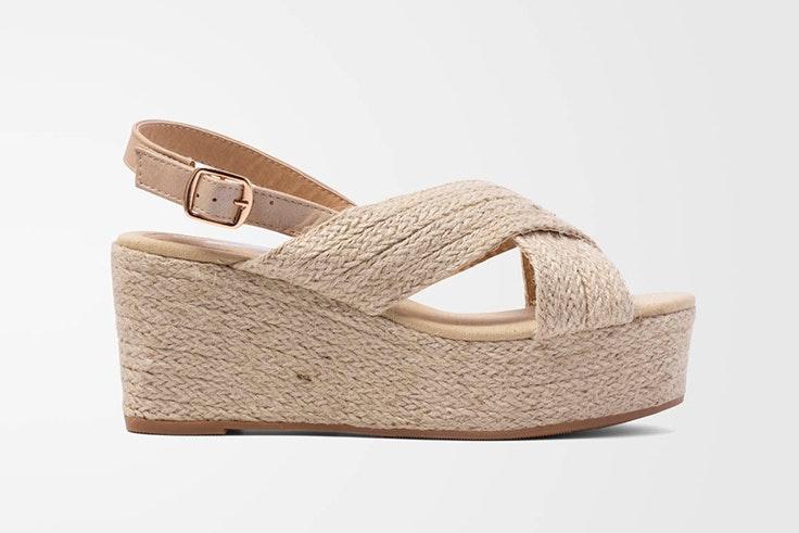 Sandalias de yute disponibles en la zapatería Vas