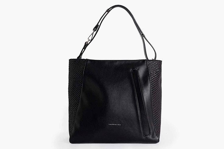Bolso shopper en color negro de Paco Martínez