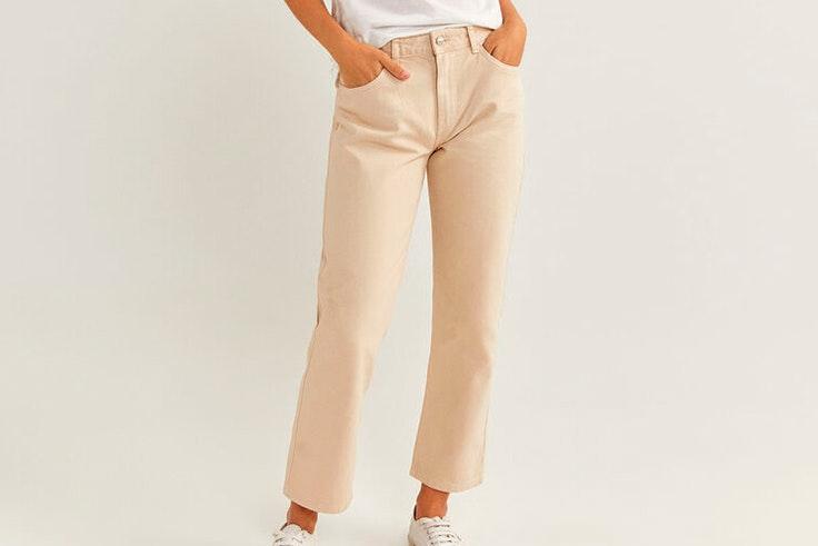 Pantalón recto de Springfield pantalones de otoño
