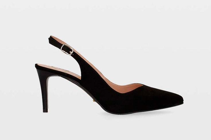 Zapatos de tacón en color negro de Ulanka