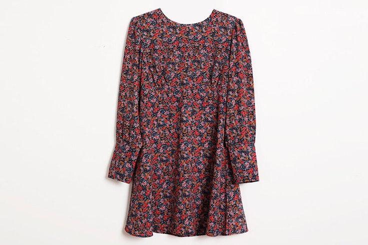Vestido con estampado de flores de Pimkie