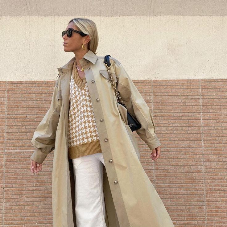 claudiaparrast gabardina prendas de abrigo