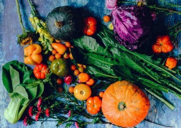 Verduras cenas