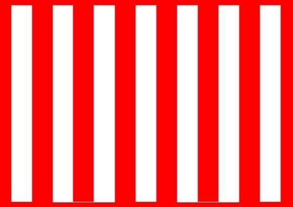 ropa roja y blanca