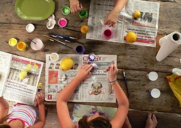 taller pintura niños