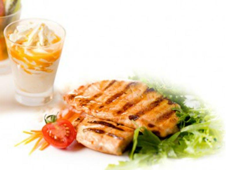 Menu bife de frango do Miit (6,75€)