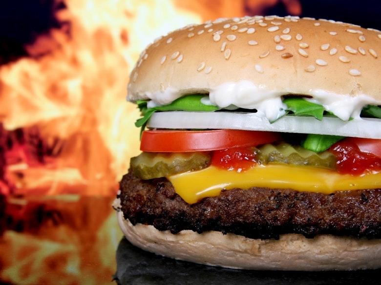 burger featured
