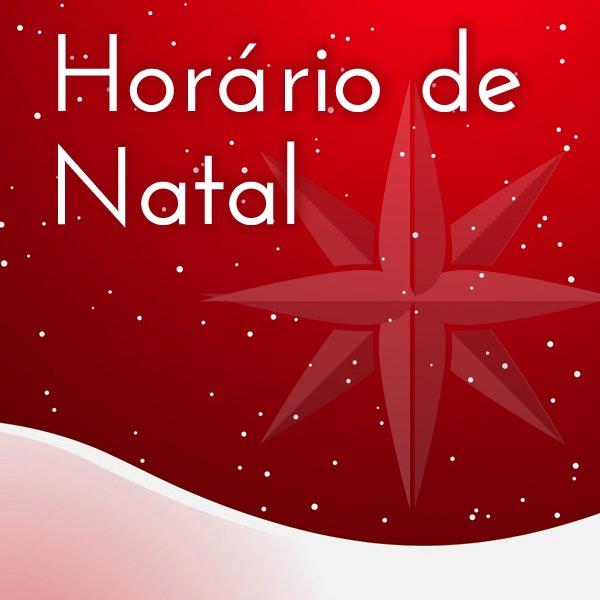 Horário de Natal