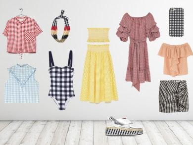 Tendências Vichy Bimba Y Lola, H&M, Oysho, Uterqüe, Zara