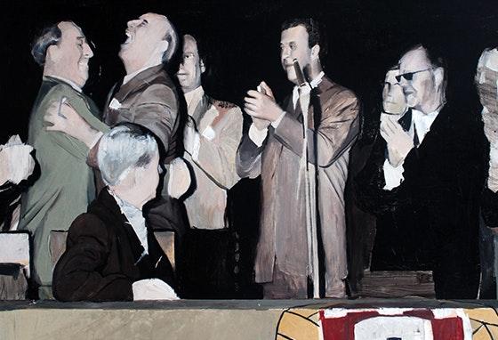 Pinturas de Ludgero Almeida em exposição