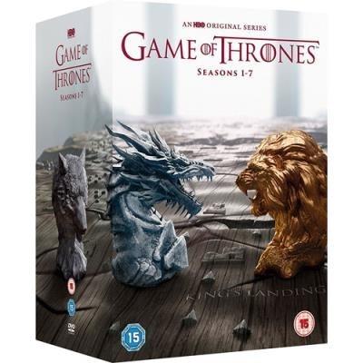 DVD's com várias temporadas, 144,99€