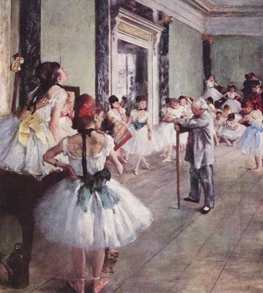 A Aula de Dança (1875)