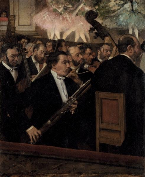 A Orquestra na Ópera (1869)