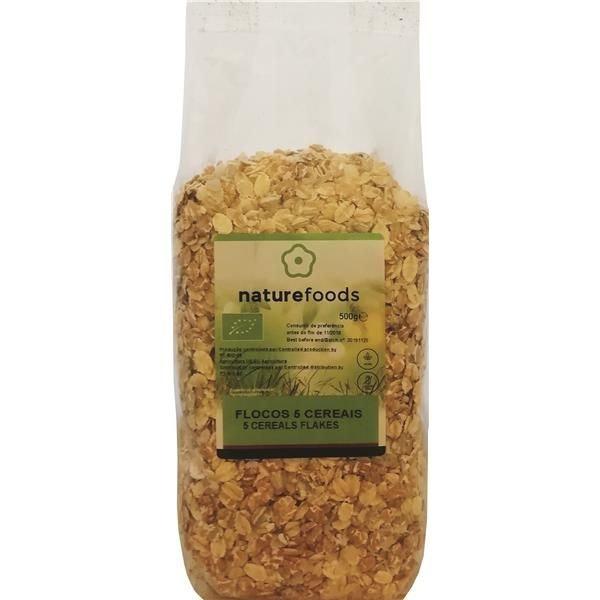 Flocos de Cinco Cereais Bio, 2,49€