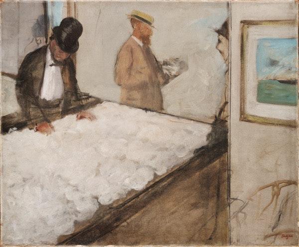 Negociantes de algodão em Nova Orleães (1873)