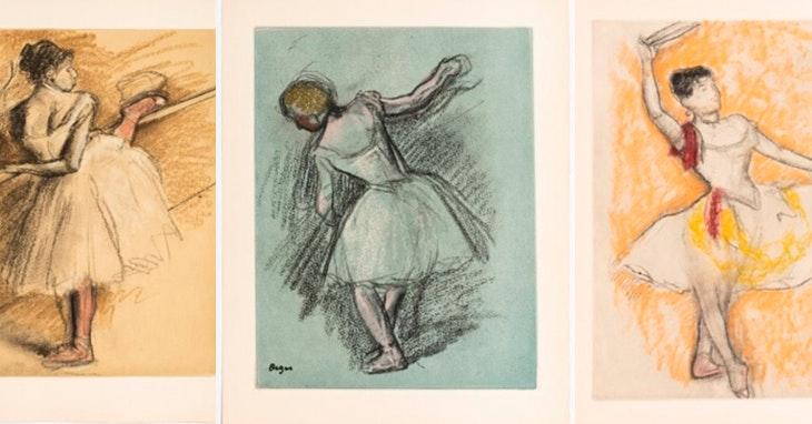 O bailado da arte de Edgar Degas está a chegar ao NorteShopping