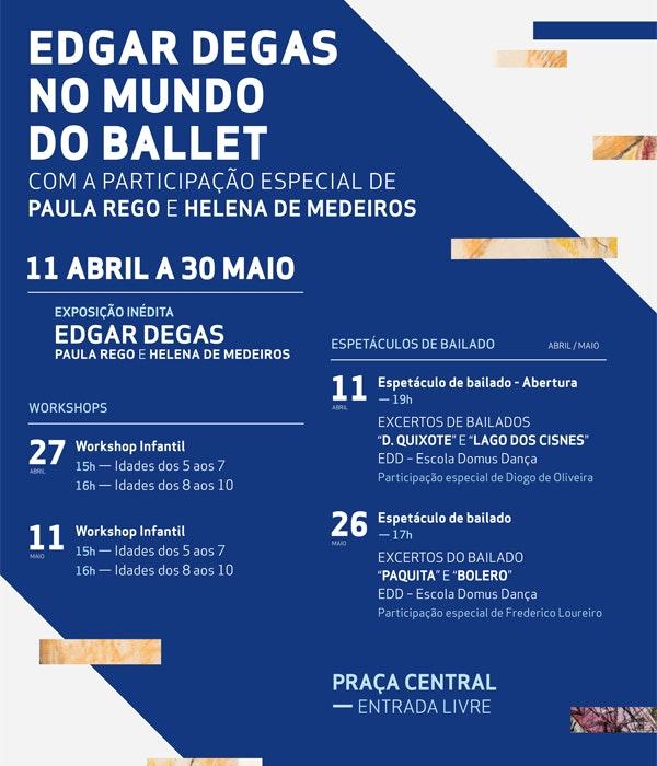 Programa evento Edgar Degas