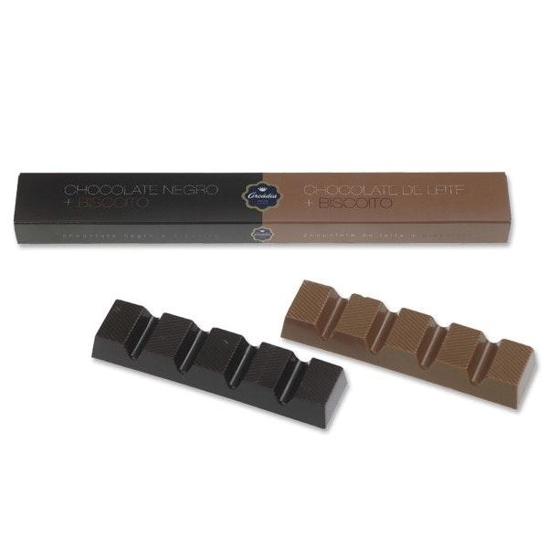 Tablete de Chocolate Negro e de Leite, Arcádia, 3,20€
