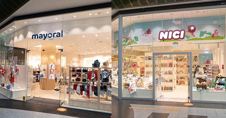 Mayoral e Nici: as novas marcas do nosso Centro para os mais pequenos