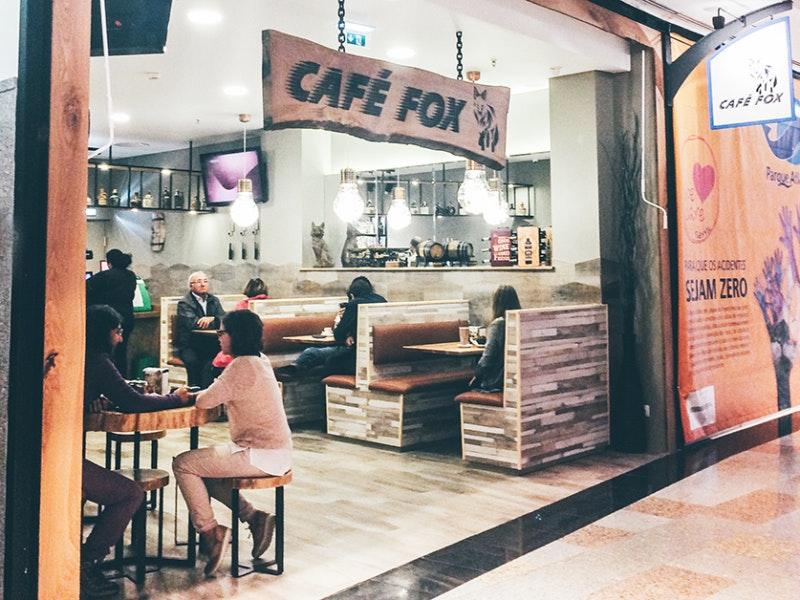 Café Fox no piso 1
