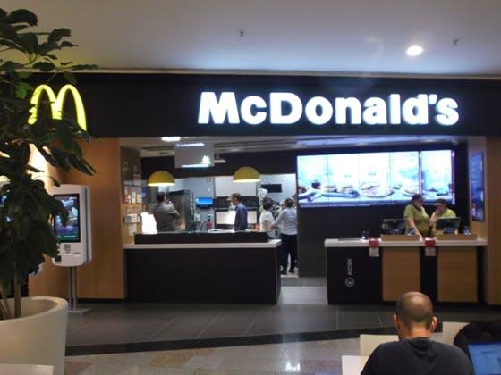 Abriu o segundo McDonald's.