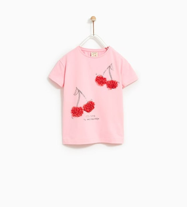 T-shirt Zara, 9,95€