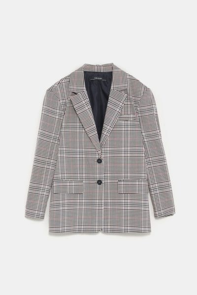 Blazer xadrez, Zara, 39,95€
