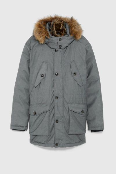 Parka combinada, Zara, 99,95€