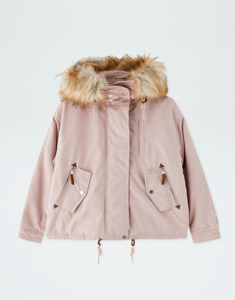 Parka curta, Pull&Bear, 39,99€