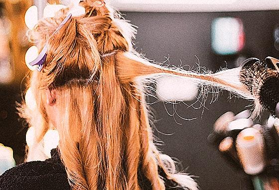5 penteados na Guida Cabeleireiros