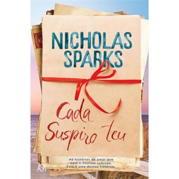 """""""Já te disse que o mundo anda devagar no mato. E algumas coisas nunca chegam ao seu destino. Mas acredito piamente que tu e eu partilhamos uma coisa tão especial que, se alguma vez quiseres estar comigo, o universo me dirá"""". Nicholas Sparks, 18,50€"""