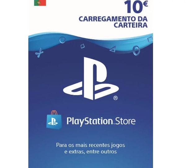 Carregamento Playstation, Worten, 10€