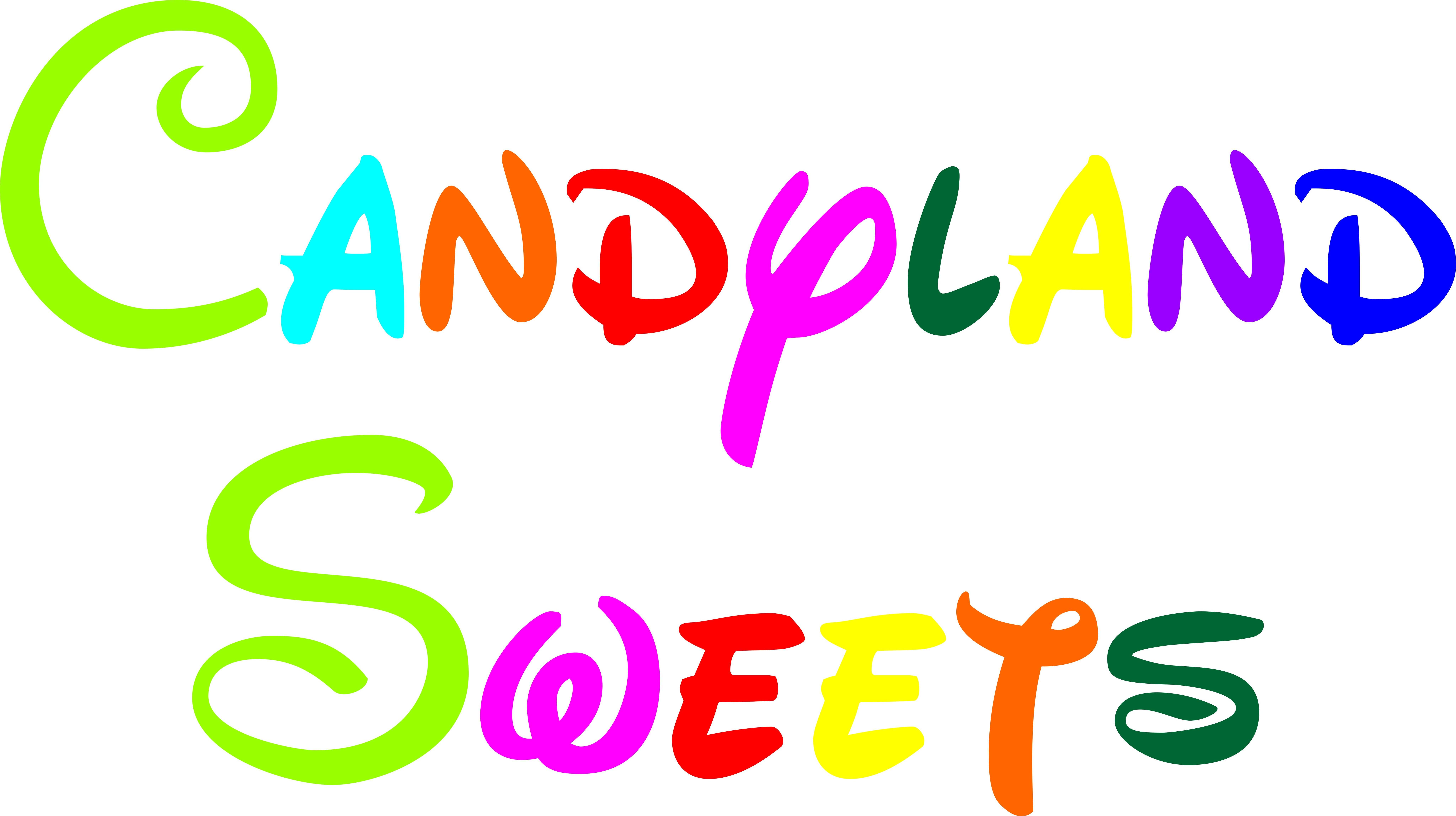 LOGO CANDYLAND SWEETS