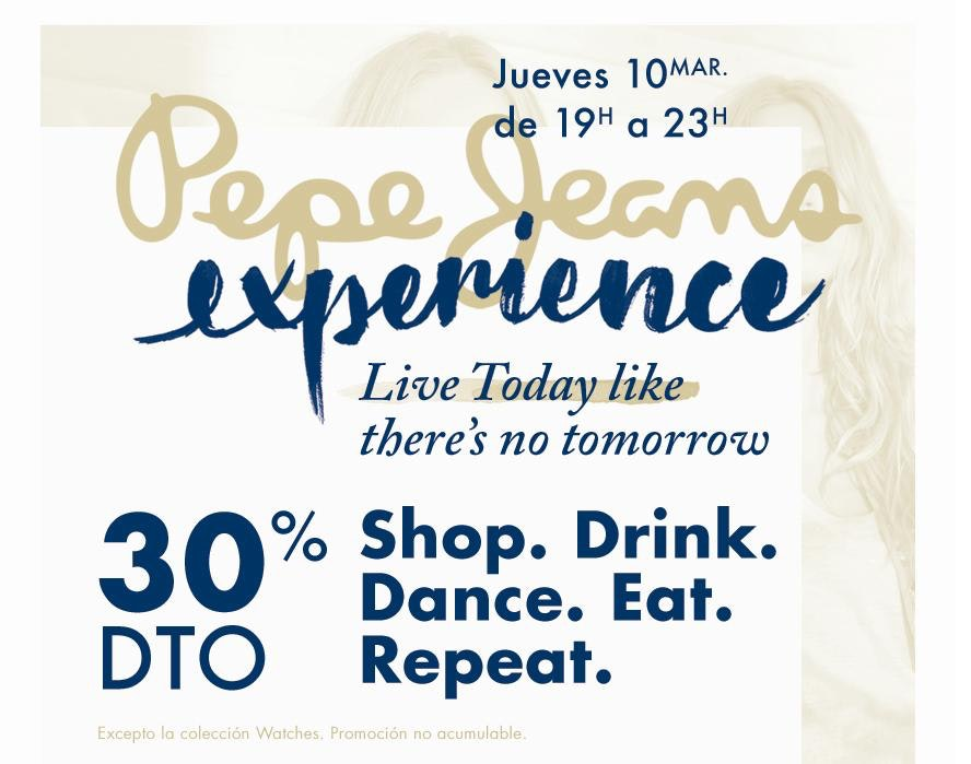 experience ok pepe jeans