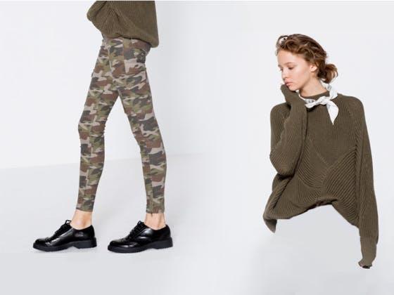 Ropa militar, siempre a la moda