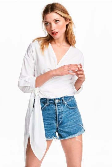 El encanto de las blusas de fiesta