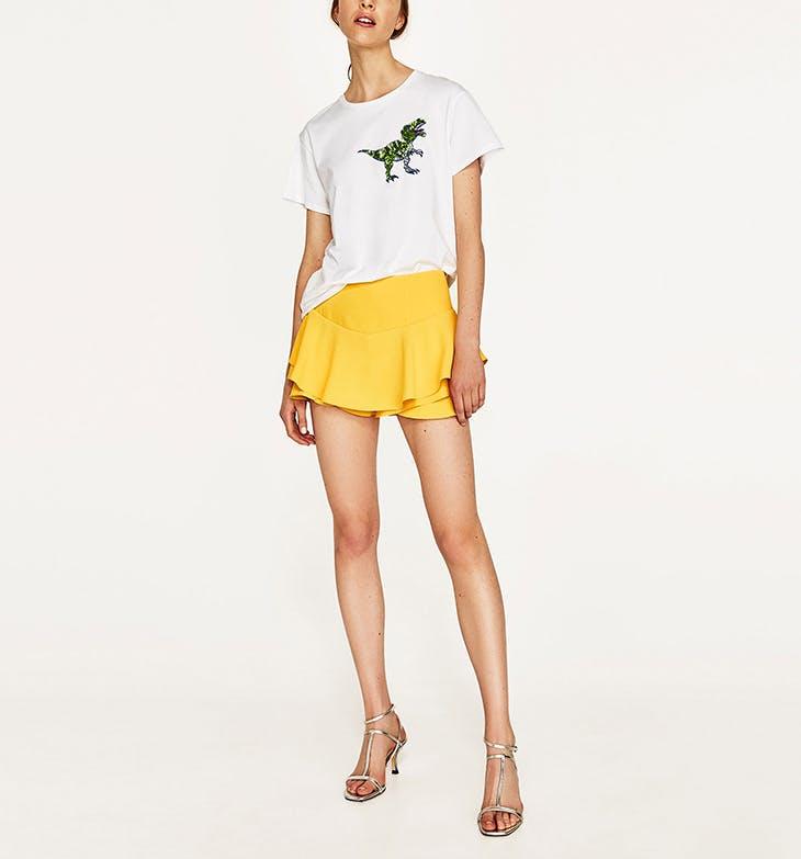 Consigue tu falda pantalón en Zara