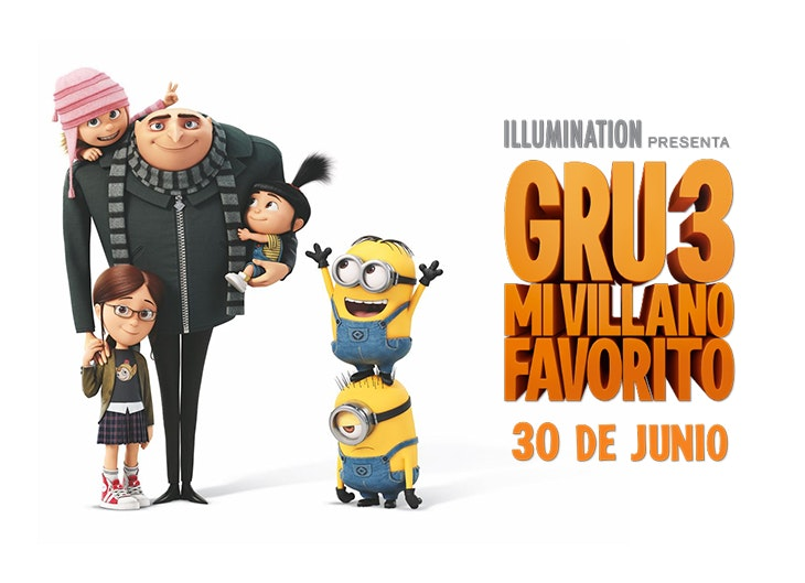 ¡Por fin llega Gru a Yelmo Cines Plaza Mayor!