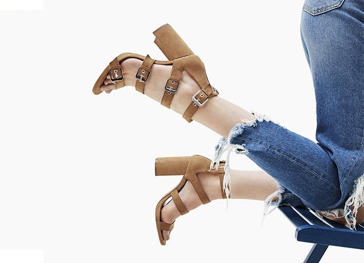 Sandalias romanas: no te las quitarás en todo el verano