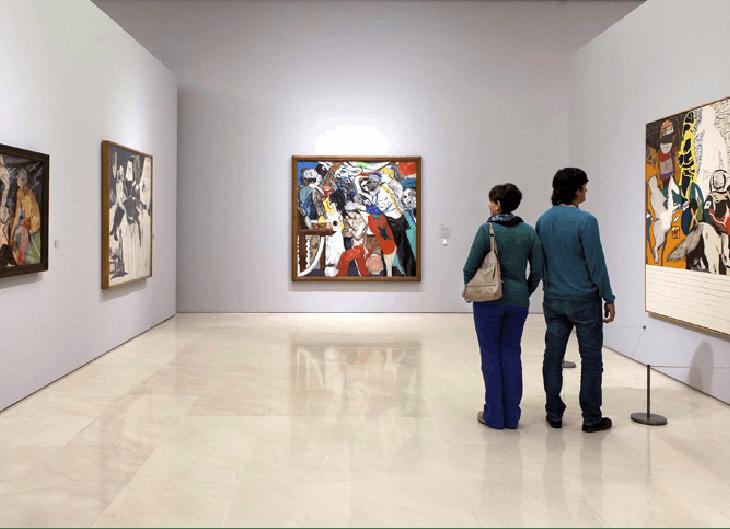 La Escuela de Londres en cuerpo y alma: su exposición en Málaga