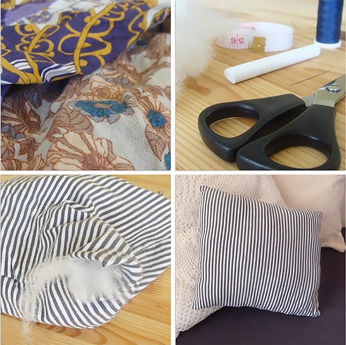 DIY: recicla tu propia almohada
