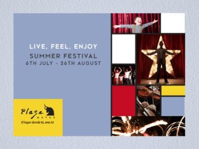 Live, feel and enjoy Plaza Mayor's Summer Festival