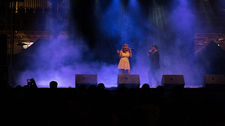 Increíble acogida a la Compañía Dany Cantos en el Festival de Verano 2017