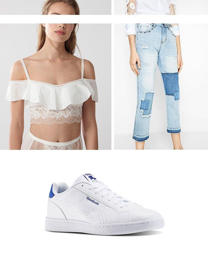 4 outfits con bralette para inspirarte