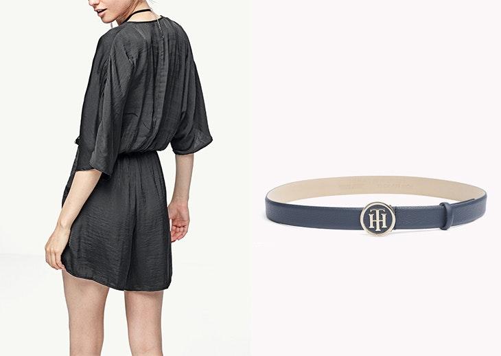 5 outfits con cinturón negro para inspirar tus looks