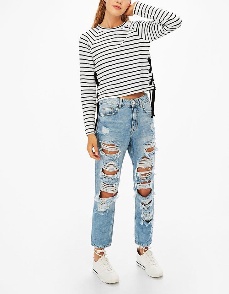 4 outfits para combinar tus pantalones boyfriend