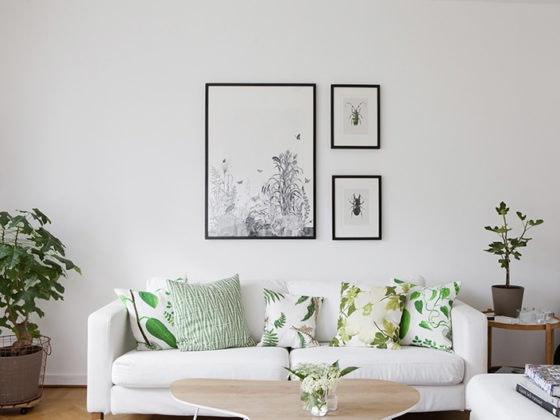 Decora tu salón con plantas artificiales