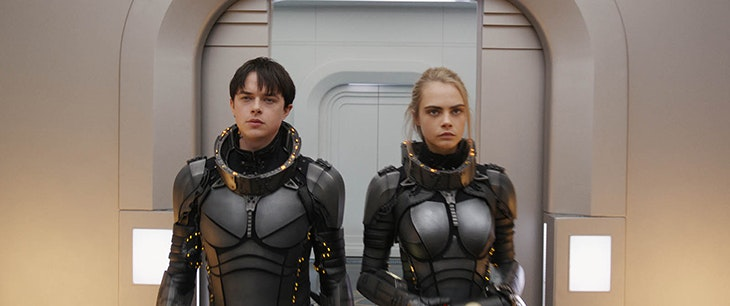 Valerian y Laureline llegan al CC Plaza Mayor