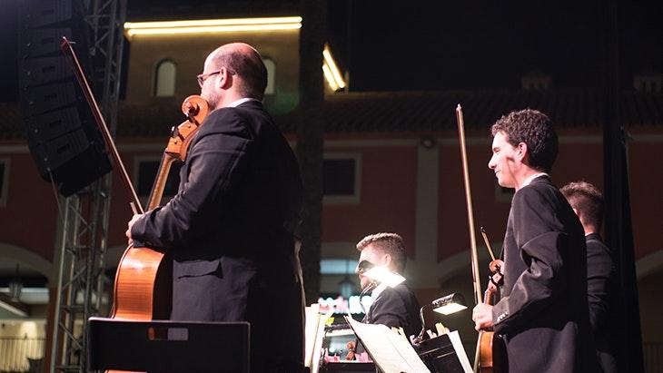 La Sinfónica de Málaga brilla en el Festival de Verano