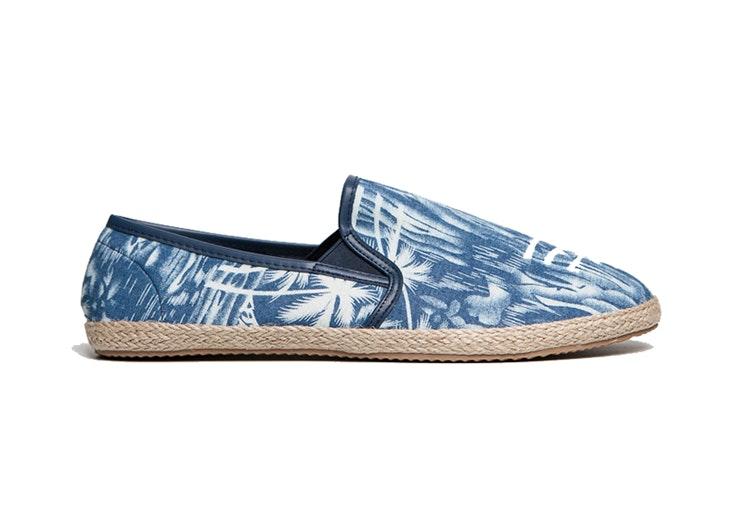 Las zapatillas de esparto también para hombres
